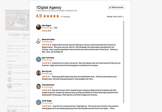 1Digital Agency Reviews