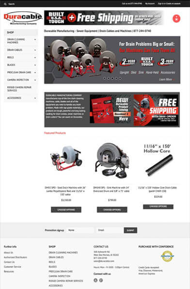 eCommerce Redesign