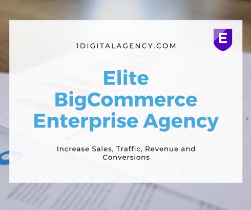 1Digital BigCommerce Elite Agency Partner