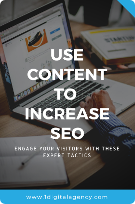 Use content to increase SEO