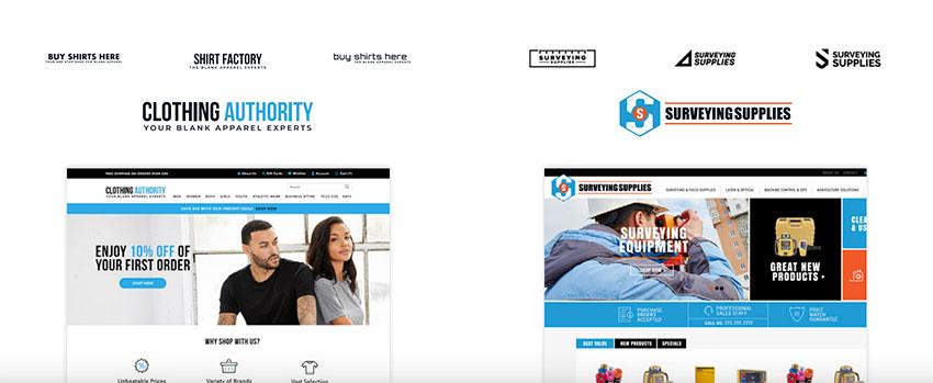 Branding & Logo Design for the eCommerce Industry