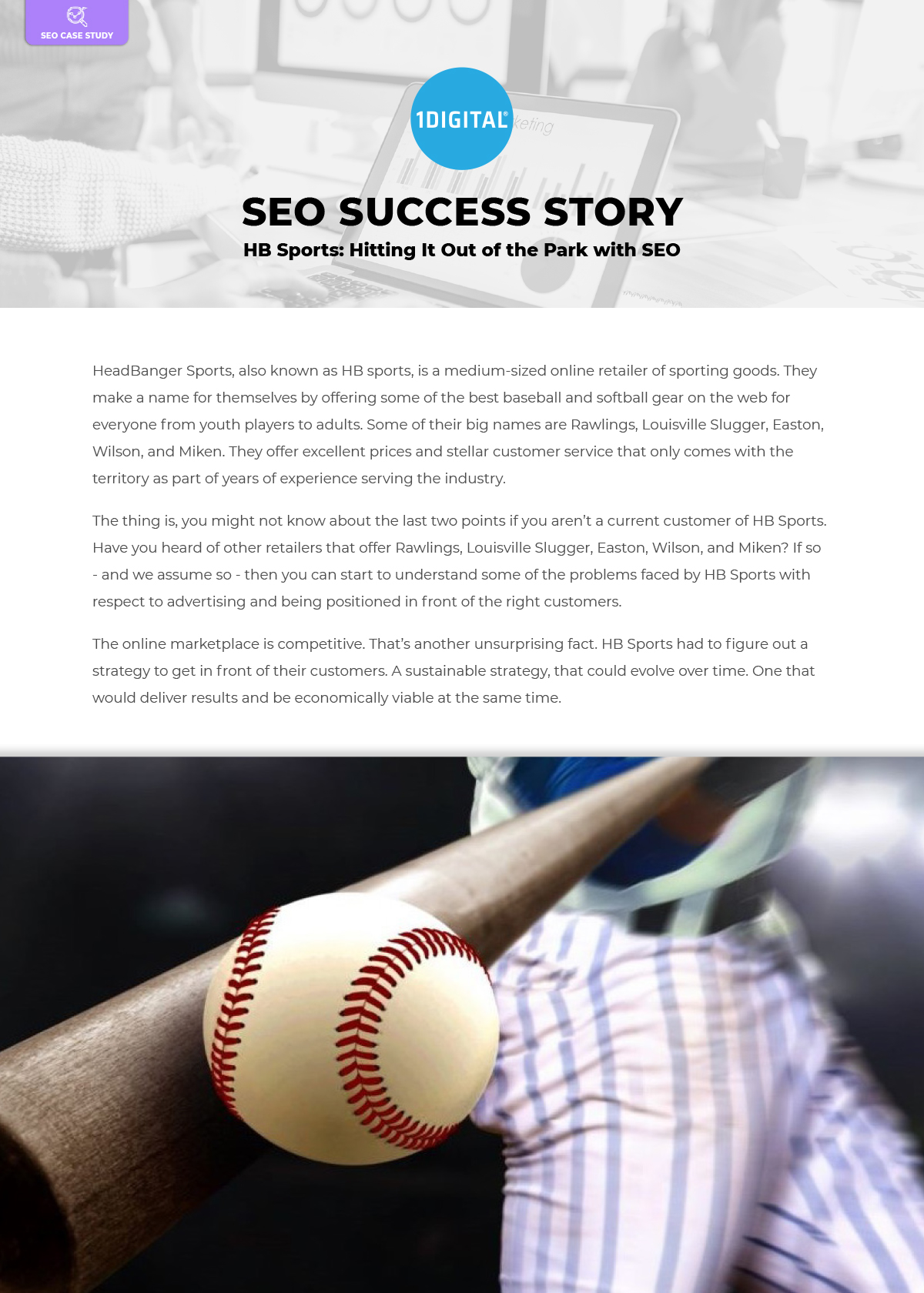Hitting It Out of the Park with SEO