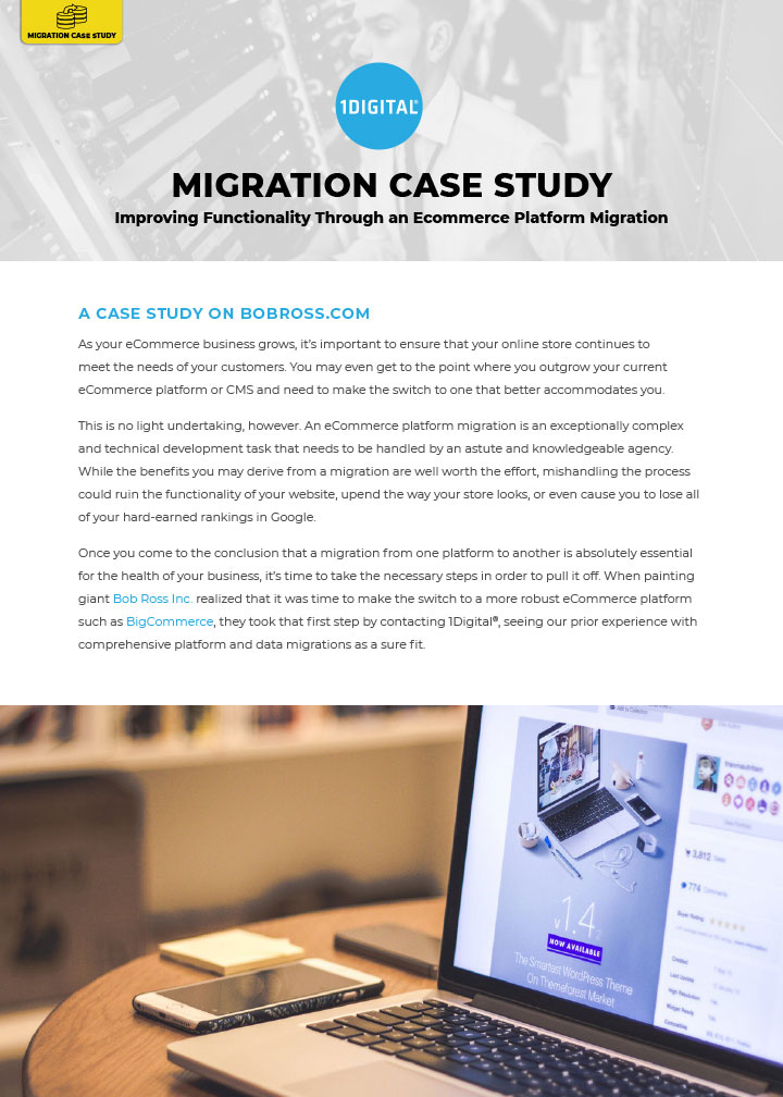 Improving Functionality Through an eCommerce Platform Migration
