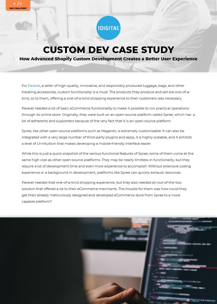 How Advanced Shopify Custom Development Creates a Better User Experience