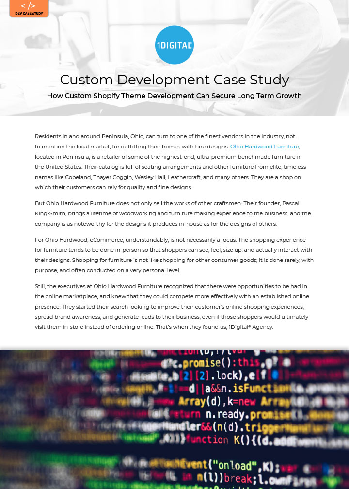 How Custom Shopify Theme Development Can Secure Long Term Growth