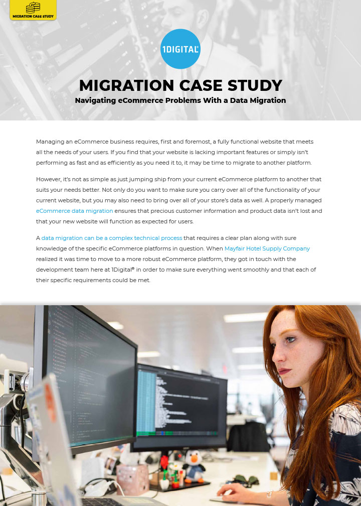 Navigating eCommerce Problems With a Data Migration
