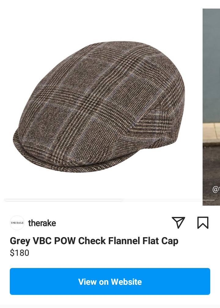 Instagram Product Page