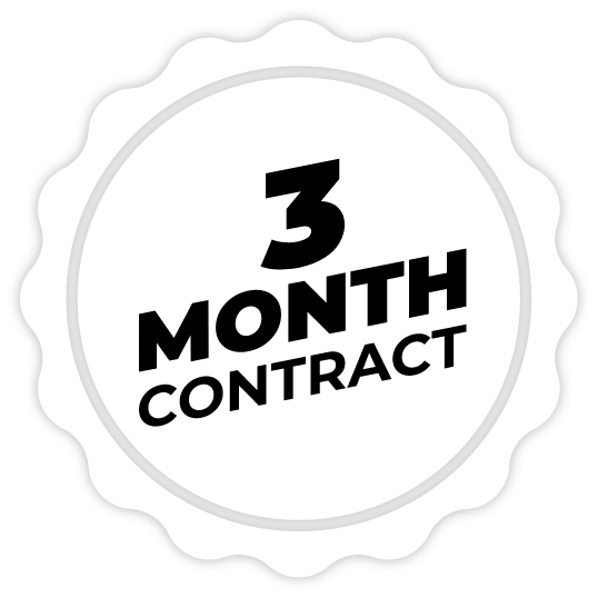 3 month contract