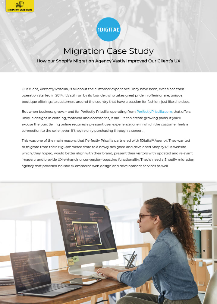 How Our Shopify Migration Agency Vastly Improved Our Client's UX