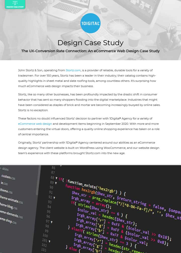 The UX-Conversion Rate Connection: An eCommerce Web Design Case Study