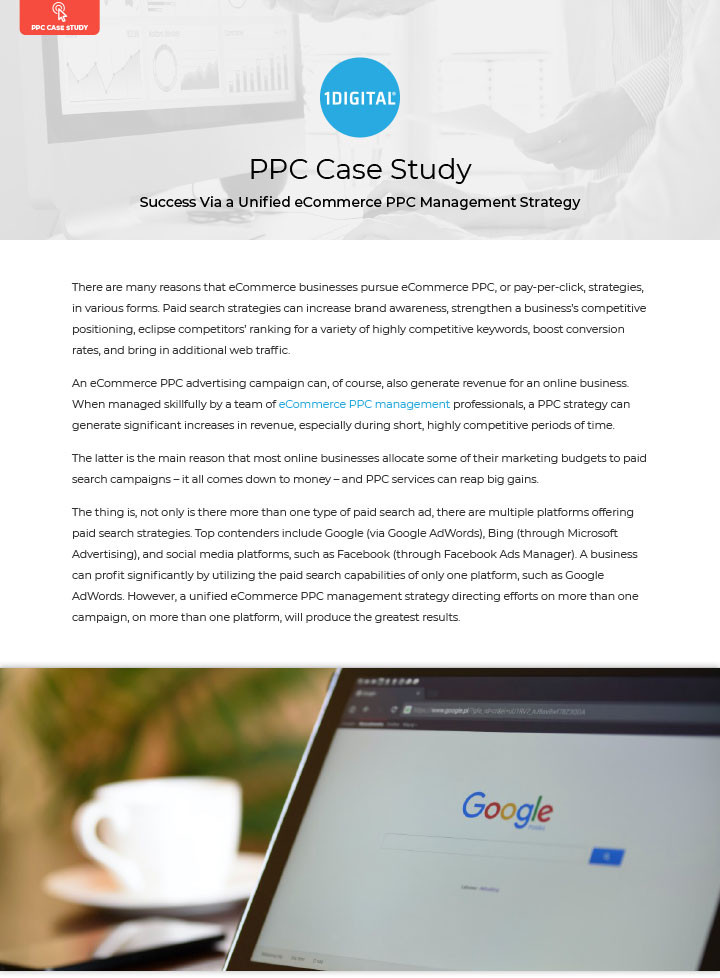 Success Via a Unified eCommerce PPC Management Strategy